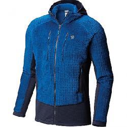 Mountain Hardwear Men's Monkey Man Grid Hooded Jacket Nightfall Blue