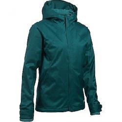 Under Armour Women's UA ColdGear Infrared Sienna 3-In-1 Jacket Arden Green / Midnight Green / Black
