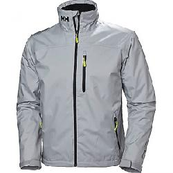 Helly Hansen Men's Crew Midlayer Jacket Grey Fog