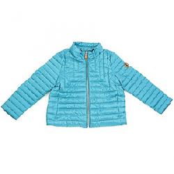 Save The Duck Girls High Rise Lightweight Jacket Waterfall Green