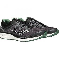 Saucony Men's Hurricane ISO 4 Shoe Black/Grey/Green