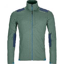 Ortovox Men's Fleece Light Grid Jacket Green Forest