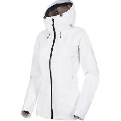 Mammut Women's Convey Tour Hardshell Hooded Jacket Bright White / Black