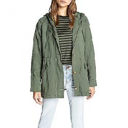 Sanctuary Women's Commodore Hooded Anorak Jacket Peace Green