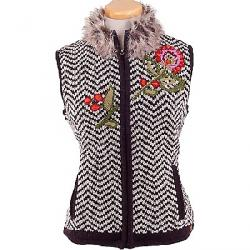 Laundromat Women's Carmen Vest Light Natural