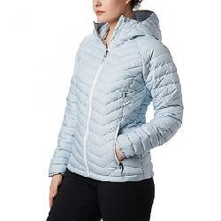 Columbia Women's Powder Lite Hooded Jacket Cirrus Grey Sparkler Print