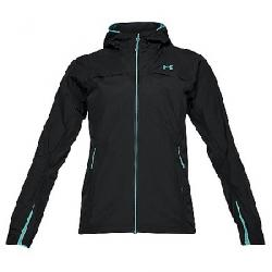 Under Armour Women's UA Scrambler Jacket Black / Tropical Tide / Tropical Tide