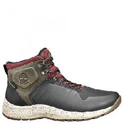Timberland Men's FlyRoam Trail Waterproof Shoe Black/Burgundy
