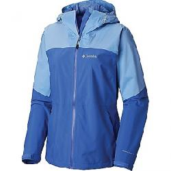Columbia Women's Evolution Valley II Jacket Arctic Blue / White Cap Heather