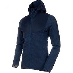 Mammut Men's Alvra Midlayer Hooded Jacket Peacoat Melange / Peacoat