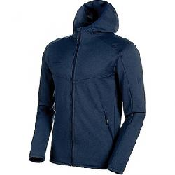 Mammut Men's Nair Midlayer Hooded Jacket Peacoat Melange