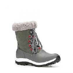 Muck Women's Arctic Apres Lace Grip Boot Gray / Red