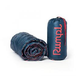 Rumpl Puffy Throw Blanket Deepwater Blue
