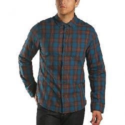 Jeremiah Men's Howler Reversible Plaid with Print LS Shirt Legion Blue