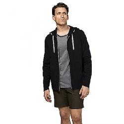Manduka Men's Intentional Zip Hoodie BLACK