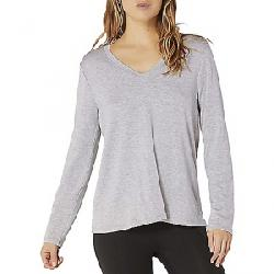 Beyond Yoga Women's Laced Back Pullover Top Light Heather Gray