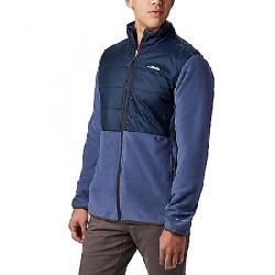 Columbia Men's Basin Butte Fleece Full Zip Jacket Dark Mountain/Collegiate Navy