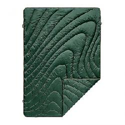 Rumpl Puffy Throw Blanket Forest Green