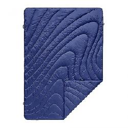 Rumpl Puffy Throw Blanket Wave Blue