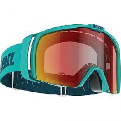 Bliz Nova Goggle Matte Turquoise / Brown / Red Multi