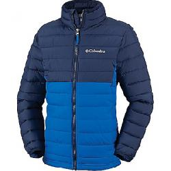 Columbia Boys' Powder Lite Boys Jacket Super Blue/Collegiate Navy