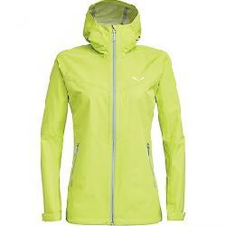 Salewa Women's Puez Aqua 3 PTX Jacket Wild Lime