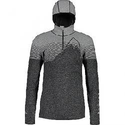Maloja Men's ValairM. Hooded Long Sleeve Multisport Jersey Moonless