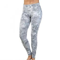 good hYOUman Women's Elia Legging Blue Marble Wash