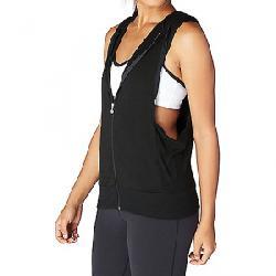 Beyond Yoga Women's Vest Behavior Hoodie Top Black