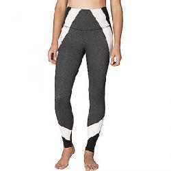 Beyond Yoga Women's Around the Colorblock High Waist Long Legging Heather Grey / Jet Black Block