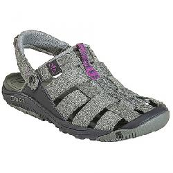 Oboz Women's Campster Sandal Thyme / Magenta