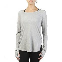 Vimmia Women's Isle V Back LS Crew Neck Top Taupe