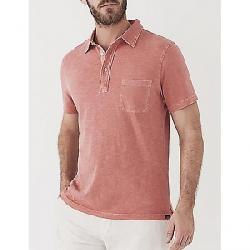 Faherty Sunwashed Polo Shirt New Red