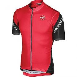 Castelli Men's Entrata 3 Full Zip Jersey Red