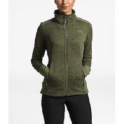 The North Face Women's Shastina Stretch Full Zip Jacket Four Leaf Clover Heather / Four Leaf Clover Hthr