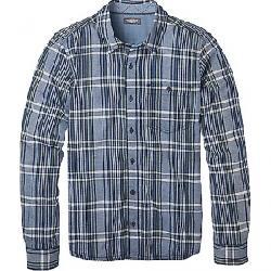 Toad & Co Men's Beckmen LS Shirt Medium Indigo