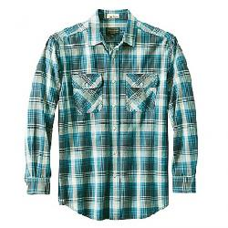 Pendleton Men's Long Sleeve Beach Shack Twill Shirt Blue Grey Plaid