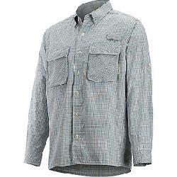 ExOfficio Men's Air Strip Check Plaid LS Shirt Citadel