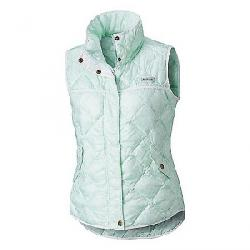 Columbia Women's Harborside Diamond Quilted Vest Sea Ice Fishskin Print
