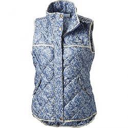 Columbia Women's Harborside Diamond Quilted Vest Bluebell Fishskin Print