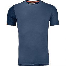 Ortovox Men's 185 Rock'N'Wool SS Top Night Blue