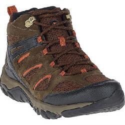 Merrell Men's Outmost Mid Vent Waterproof Boot Slate Black