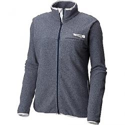 Columbia Women's Harborside Fleece Full Zip Jacket Collegiate Navy / White