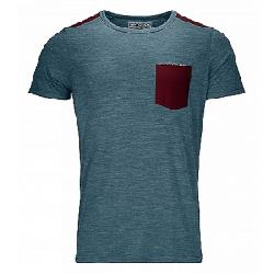 Ortovox Men's 120 Cool Tec T-Shirt Mid Aqua Blend
