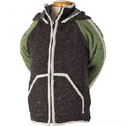 Laundromat Kids' Shefford Fleece Lined Sweater Pacha Green