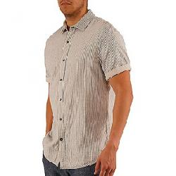 Jeremiah Men's Malibu Recersible Gauze Shirt Moonbeam Heather
