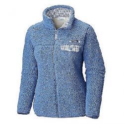 Columbia Women's Harborside Heavy Weight Full Zip Fleece Jacket Bluebell / Bluebell Gingham