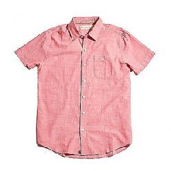 The Normal Brand Men's Slub Cotton Short Sleeve Woven Pink