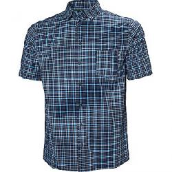 Helly Hansen Men's Fjord QD Short Sleeve Shirt Navy Check