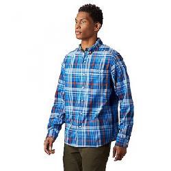 Mountain Hardwear Men's Minorca LS Shirt Altitude Blue